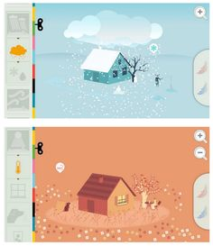 The beautiful new Tinybop Weather app lets kids explore the magic of weather and atmospheric science in a wonderful self-directed way.