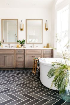Guest bathroom remodel, Master bath remodel and Bathroom ideas include small bat… – Bathroom Wood Bathroom, Simple Bathroom, Bathroom Flooring, Bathroom Interior, Bathroom Ideas, Bathroom Cabinets, 1950s Bathroom, Bathroom Small, Bathroom Storage