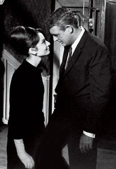 """""""Charade"""" starring Audrey Hepburn and Cary Grant - Such an intriguing thriller movie. Katharine Hepburn, Audrey Hepburn Born, Audrey Hepburn Photos, Golden Age Of Hollywood, Vintage Hollywood, Hollywood Stars, Classic Hollywood, Cary Grant, Bette Davis"""