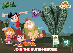 Join the Nurti-Heroes in creating healthy habits for our #FoxyKids!   http://nutri-ventures.com/us/ Nutri Ventures