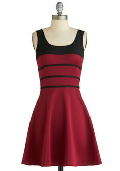 Again, love the stripes and the sale! Small/Medium Twirl of Opportunity Dress, #ModCloth