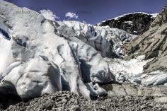 Nigardsbreen - ein Gletscher in Norwegen
