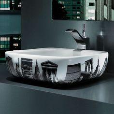 City Life Unique Bathroom Sinks
