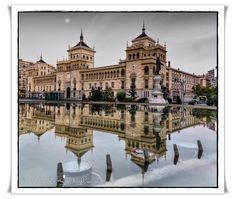Academia caballeria - night by Miguel Angel  on 500px