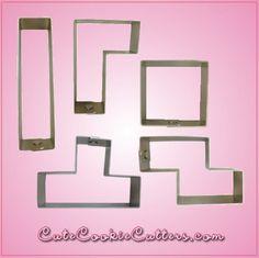 Tetris Cookie Cutter Set