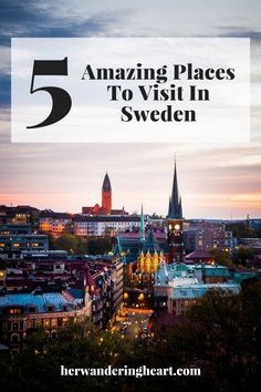 Her Wandering Heart - Fashion, Beauty, Travel, Lifestyle Cool Places To Visit, Sweden, The Good Place, Fashion Beauty, Lifestyle, Heart, Amazing, Blog, Movie Posters