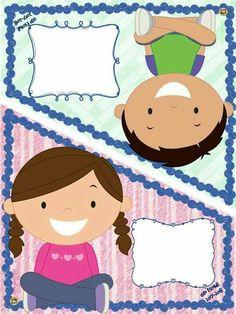 Kindergarten Activities, Preschool, School Binder Covers, Teacher Cartoon, Kids Background, School Labels, Kids Vector, Quilt Labels, Bee Art