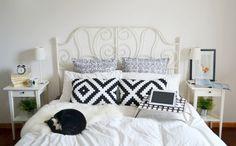 Ikea Schlafzimmer Bett Vintage Stil