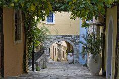 Arolithos traditional settlement Crete, Greece