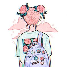 Draw this in your style: cutiepatoodie by Acisey on DeviantArt Arte Do Kawaii, Kawaii Art, Cute Art Styles, Cartoon Art Styles, Kawaii Drawings, Cute Drawings, Aesthetic Art, Aesthetic Anime, Arte Copic
