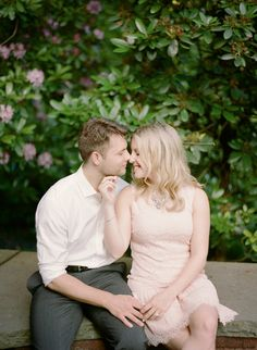 Photography: Rebecca Yale Portraits - rebeccayaleportraits.com  Read More: http://www.stylemepretty.com/2014/08/25/classic-westchester-engagement-session/
