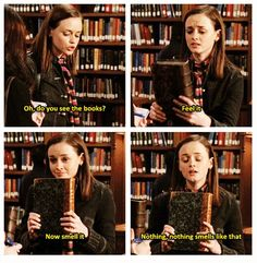 Rory Gilmore is my spirit animal.