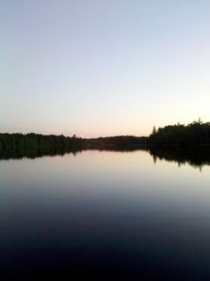 Day 24: Something that's on your mind. (Little Muskie Lake)