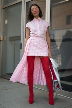 The Best Street Style At New York Fashion Week Spring Summer 2018 #streetstylefashion,