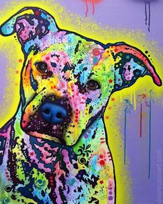 """Meet """"Sugar"""". Commissioned piece beauty ~ This piece is not available in print but we can certainly admire this beauty."""