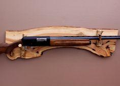 Image result for wall mount wood gun rack