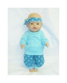 Dukkeklær til dukke 43cm, tilbud