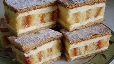 New Easy Cake : Simple recipe for cheese sticks Kremes Recipe, Cheese Sticks Recipe, Flan Cake, Waffle Cake, Traditional Cakes, Hungarian Recipes, Homemade Cakes, Dessert Bars, Delicious Desserts