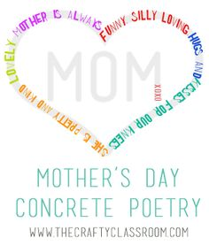All About My Mother: Poetry & Creative Writing Contest
