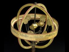 HELIOCENTRISMO EM DIMENSÕES - Esta representação do sistema solar data de 1800 e segue o modelo estabelecido por Nicolau Copérnico, que traz o Sol no centro