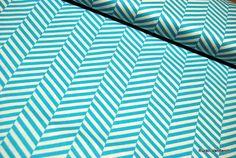 Camelot Design USA türkis Streifen Stripes | bei RUCKN-VANBERCH bei DaWanda