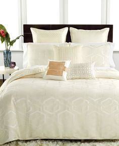 Hotel Collection Verve King Coverlet