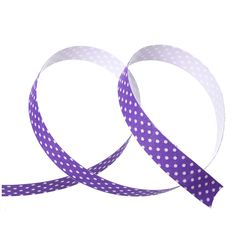 """5/8"""" Grape Purple Polka Dots Sticky Fabric Tape, adhesive on back, 4 meter roll  adh0015 by SmartParts on Etsy"""