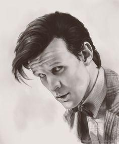 matt+smith+drawing   Matt Smith by *MelissaDalton on deviantART Fan Art