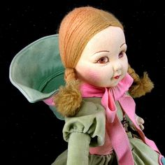 "Norah Wellings Cloth Lovely Young Girl 17"" VGC"