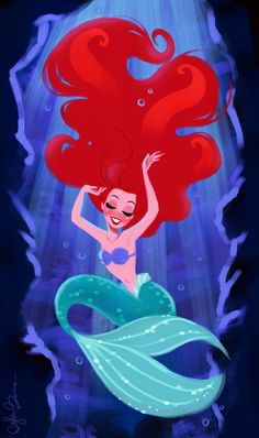 Want to discover art related to ariel? Check out inspiring examples of ariel artwork on DeviantArt, and get inspired by our community of talented artists. Disney Nerd, Disney Fanatic, Disney Fan Art, Disney Movies, Goth Disney, Little Mermaid Art, Disney Little Mermaids, Disney Animation, Disney And Dreamworks