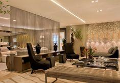 Trend alert: cortina de corrente na decoração! Saiba mais sobre essa tendência!