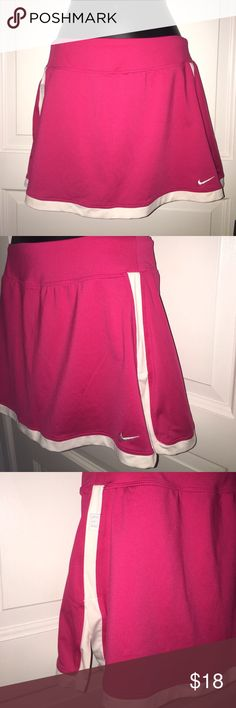 Pink Nike Dri Fit Tennis Golf Skirt Size Small Only worn once and in great condition. Nike Skirts