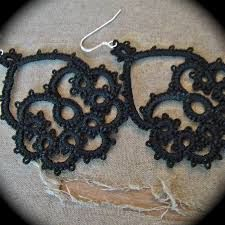 Image result for tatting earring patterns