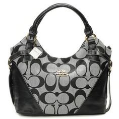 Coach Legacy Signature Grey Satchels$44.99| Trendy Women Fashion.