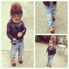 Obsessed w these #ZaraKids boyfriend jeans! #alaiarose - @monicarosestyle- #webstagram