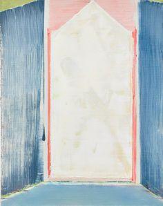 Pius Fox, Sans titre, huile sur papier, 25 x 20 cm