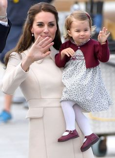 "FIN DU VOYAGE AU CANADA POUR GEORGE ET CHARLOTTE "" GOODBYE "" - PRINCESS MONARCHY                                                                                                                                                                                 More"