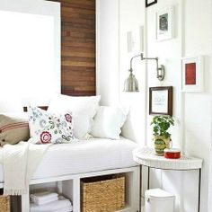 Creating the perfect nook is well worth the effort. Just look at this gallery of brilliant nooks for some inspiration! #dwellinggawker