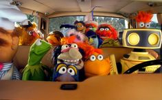 """This is so appropriate for us! We are headed to San Diego today. I think we can kill some time with Disney's """"THE MUPPETS"""" Road Trip Game! How 'bout now? Miss Piggy, Jim Henson, Disney Vacations, Disney Trips, Les Muppets, Disney Universal Studios, Fraggle Rock, The Muppet Show, Road Trip Games"""