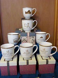 Complete Set All 7 Downton Abbey Tea Cup Mug World Market 2013 2014 2015   eBay