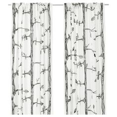 My FAVORITE Ikea curtains. I'm going to buy a couple pairs of them next time we get to Canton.    EIVOR Curtains, 1 pair - IKEA