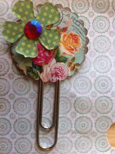 Altered Paper clip by BeverlyTir, via Flickr