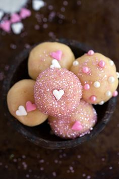 """No Bake Easy Sugar Cookie Bites - deliciously flavored from this """"secret"""" ingredient"""