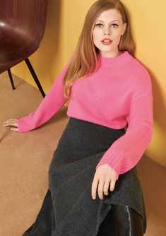 efficiency, and productivity are important. So are and Specializing in in the segment Cashmere stands for and articles as well as for a strong sense of with respect to correct conditions Pink Sweater, Productivity, Knits, Respect, Leather Skirt, Cashmere, Articles, Collections, Strong