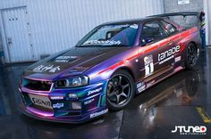 Already a legend in Japan, and one of the most talked about, and widely covered cars in the US for several years straight, this R34 Skyline GTR is competitive on a variety of motorsports stages. Description from ebay.com. I searched for this on bing.com/images