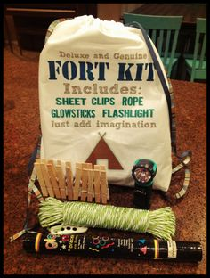 Deluxe & Genuine Fort Kit for kids by TheTreasureHunts on Etsy, $35.00