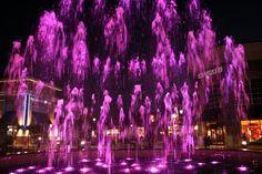 Fountain in Roseville, California