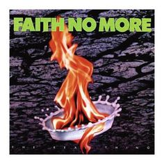 "L'album dei #FaithNoMore intitolato ""The Real Thing""."