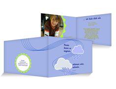 Stürmen oder schnein Einladungskarten Kindergeburtstag