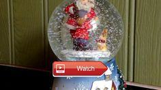 Winter Wonderland Santa With Presents Musical Snow Globe Christmas Music Video Winter Wonderland Santa With Presents Musical Snow Globe Christmas Music Video Memory Lane Toys Games